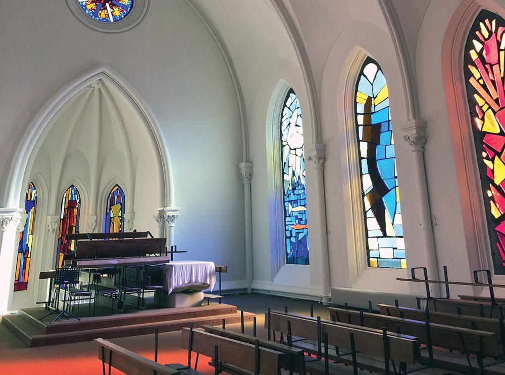 rénovation chapelle - entreprise de peinture